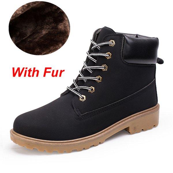 G-3 Black With Fur