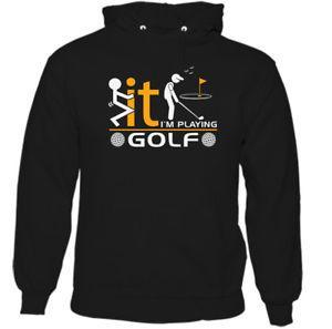 Ben 039 m Oynarken Golf Erkek Komik Golf Hoodie Oyuncu Kulüpleri Topları Caddy Çantası Ayakkabı