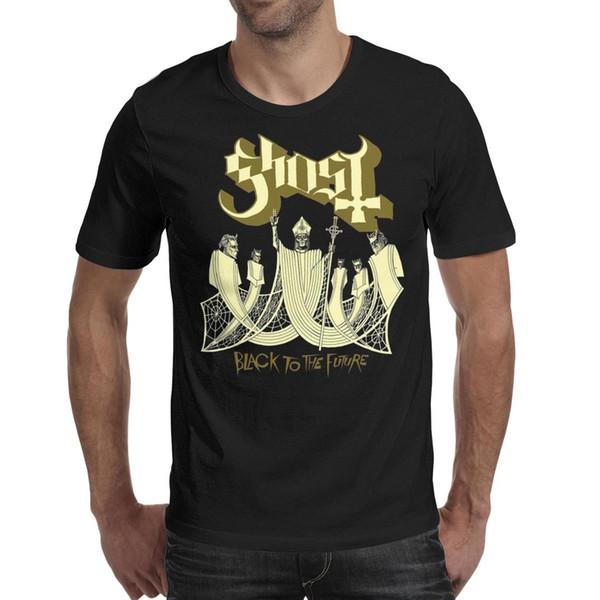 Men design printing Ghost BC black to the future black t shirt printing personalised vintage make a friends shirts retro t shirt cute b
