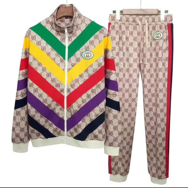 eğitim elbiseleri erkekler setleri paltoları 2020CUCCI Erkek spor giyim takım elbise kazak eşofman kas Spor gündelik aktif Fermuar