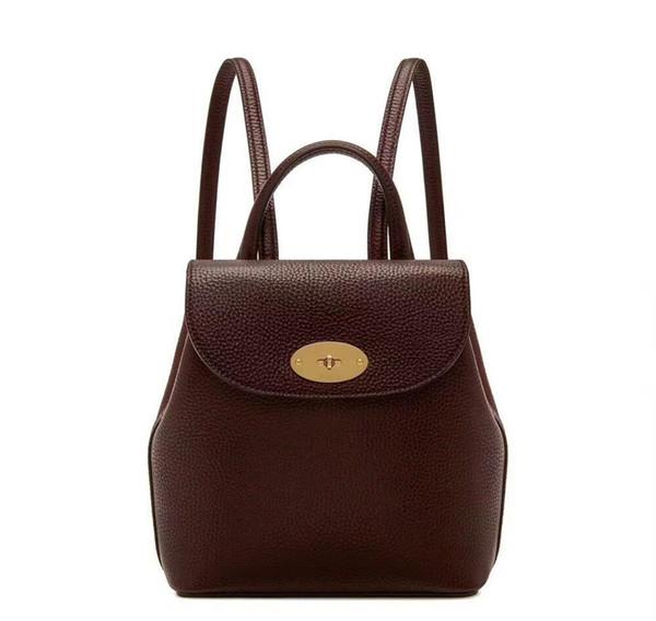 Neue Ankunft Frauen Designer Rucksack gute Qualität aus echtem Leder Rucksäcke Markennamen Taschen Sterne gleichen Stil Qualität