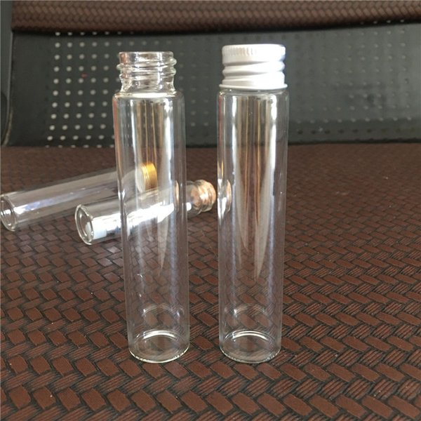 22*100mm Glass tube package eCig Containers Vape Cartridge Packaging TH205 th210 Ceramic coil Ceramic mouth extract Oil Vape Pens