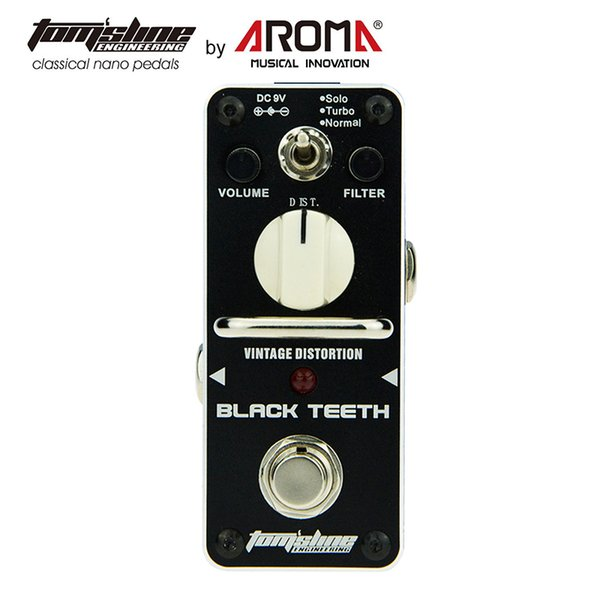 AROMA AEB-3 Guitar Effect Pedal Bass EQ Analog 5-Band Equalizer Electric Guitar Effect Pedal Mini Single Effect True Bypas Tom'slineAROMA AB