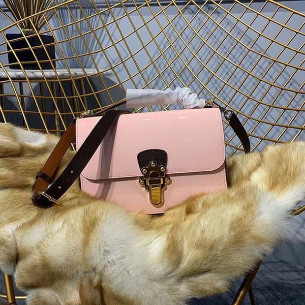 2019 moda y calidad caliente mujeres de calidad superior bolsa de mensajero del hombro mujeres moda cadena bolsa moda leathe hombro bolsa cruz cuerpo ba