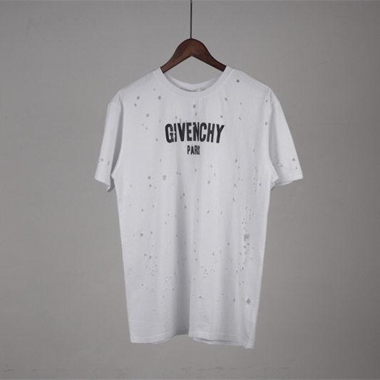 Marken Paris kleines Loch Herren T-Shirt Shorts Baumwolle Tops T-Shirt Poloshirt Männer teel hip 3g Designer Männer Frauen T-Shirts 206