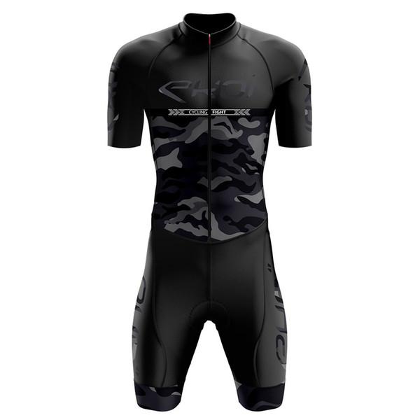 2019 ekoi Pro skinsuit Hombre Mono velocidad Trisuit Ropa Ciclismo Maillot Pro de una pieza de Triatlón desgaste del verano conjunto jerseys de ciclo