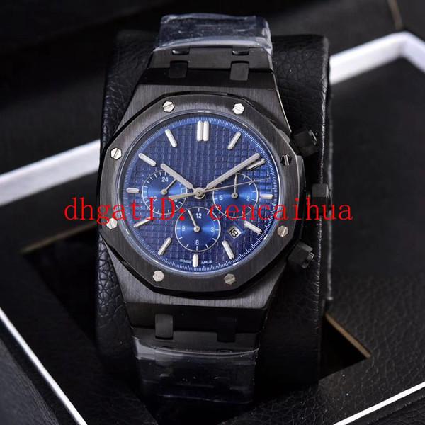 Новый продукт фабрики прямых мужских часов, с использованием импортного автоматического механического механизма, диаметр 41мм, сапфировое стекло, зеркало 316
