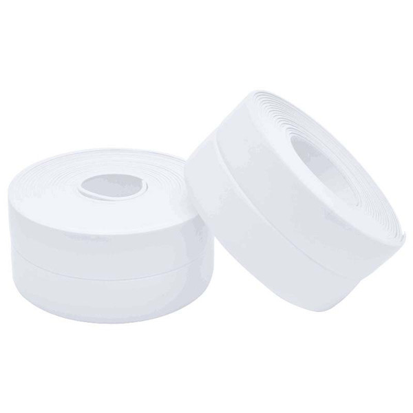 PVC Bath Wall Sealing Strip Waterproof Self Adhesive tape Kitchen Sink Basin Edge Sealing tape Four colors optional 3.2m