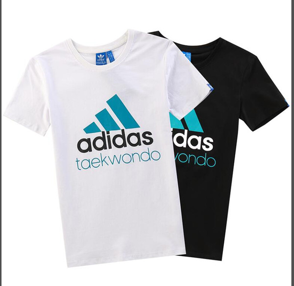 Wholesale 2019 the latest popular European and American summer casual T-shirt simple monogram printing pattern casual short sleeve price