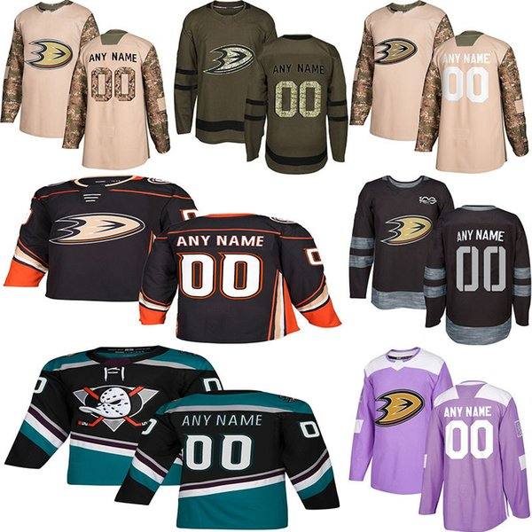 2019 new anaheim duck hockey jer ey multiple tyle men cu tom any name any number hockey jer ey