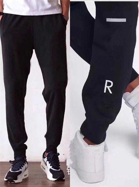 2019 новые мужские роскошные брюки Jogger новые фирменные спортивные брюки на шнуровке высокая мода активные боковые полосы дизайнер бегунов M-4XL B100107Q