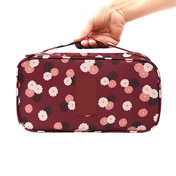 2019 Women's Storage Bag Travel Necessity Accessories Underwear Clothes Bra Organizer Cosmetic Makeup Pouch Case