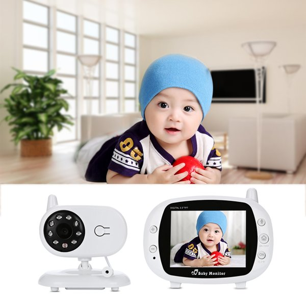 Fimei 3.5 Inch 2.4ghz Wireless Tft Lcd Video Baby Monitor Night Vision 2-way Audio Infant Baby Camera Digital Video Monitor