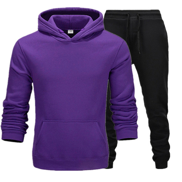 Фиолетовый+черный