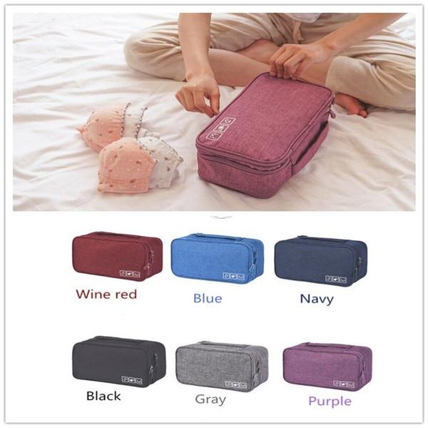 Underwear Socks Lingerie Handbag Organizer Bag Storage Case For Travel Trip