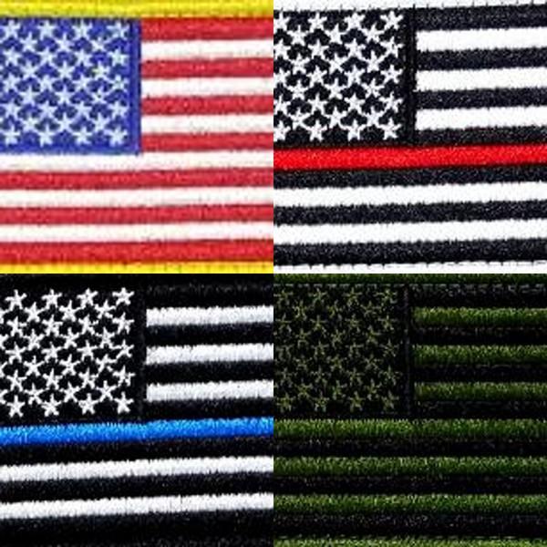 Magie Poster Schulter Abzeichen Leinwand Vereinigten Staaten Flagge Magic Stick Kleidung Handschuh Rechteck Stickerei Abzeichen Heißer Verkauf 0 8dk L1