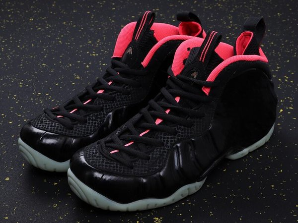 Best Quality Penny Hardaway Black Laser Crimson Man Basketball Designer Shoes Real Carbon Fiber Foam One Fashion Sneakers Come With Box