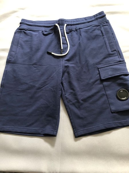 best selling Top quality 18SS brand men One glasses CP COMPANY men summer shorts cotton men short pants casual C.P jogging runing sports outdoor shorts