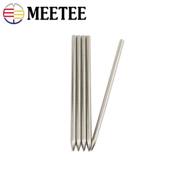 10pcs 75mm Stainless Steel Paracord Knitting Needle Shoes Lacing Stitching Weaving Needles For Parachute Cord Bracelet DY101