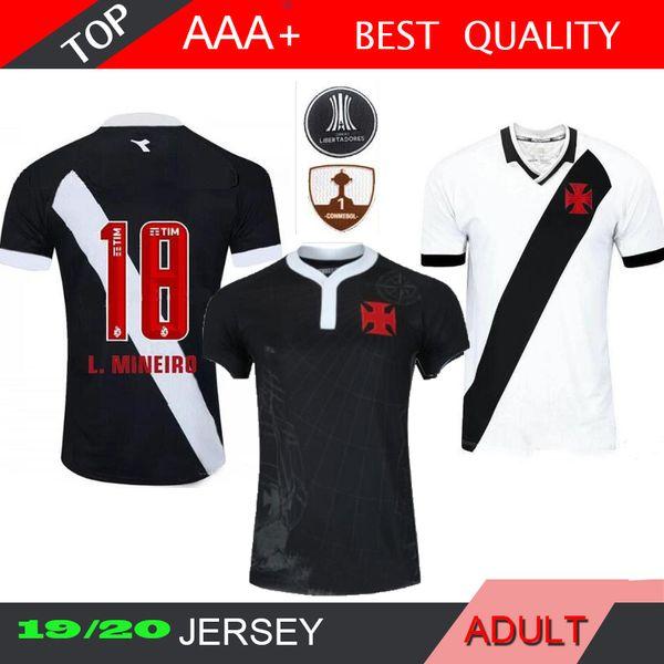 19 20 Maglia da calcio Vasco da Gama nera home ANDREY Y.PIKACHU BRUNO CESAR MAXI magliette da calcio 2019 2020 camisa de Vasco