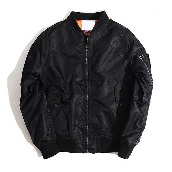 Marca de moda 2018 otoño e invierno MA 1 piloto chaqueta hombres y mujeresMX190828