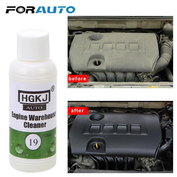 FORAUTO Araba Motoru Depo Temizleyici Ağır Yağ kaldırır Cam Cam Temizleyici Polonya Bakım 50ML 1: 8 seyreltin ile Su = 400ML
