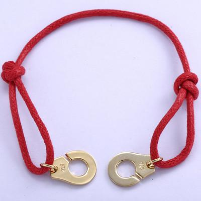 Red Rope 18K Gold