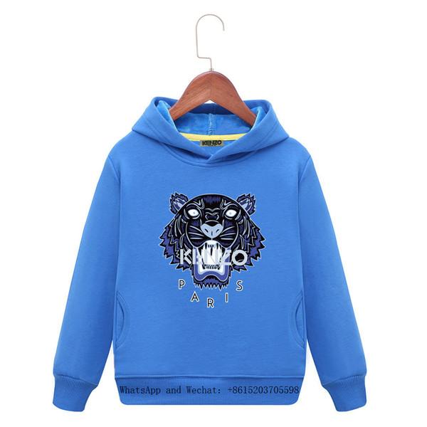 Sudaderas con capucha para niños Pretender Niños Suéter 2019 Primavera  Nuevo patrón Cabello Algodón Camisetas Cinturón 4905856eca0