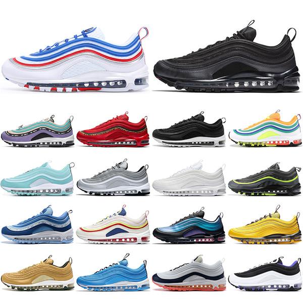 Zapatillas para hombre Nike Air Max 97 BlancoPlata