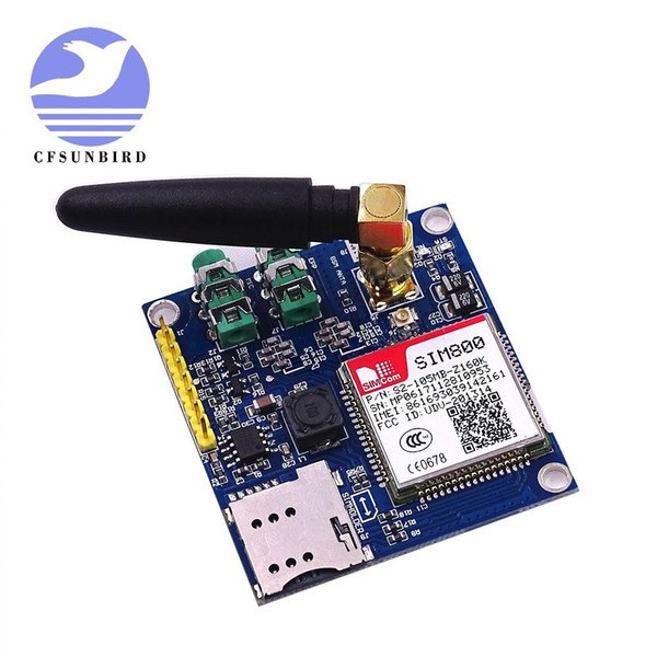 Freeshipping SIM800 development board module GSM GPRS MMS, SMS, STM32 for UNO exceed SIM900A UNVSIM800 development board