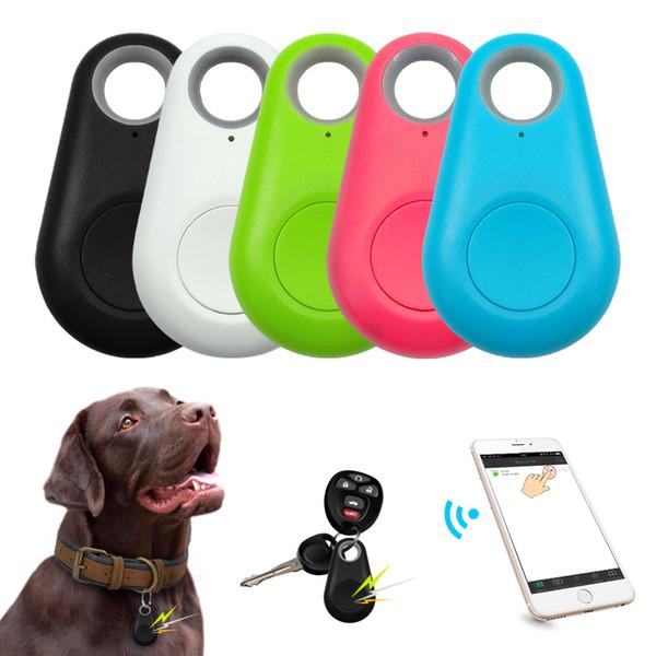 top popular Anti-Lost Tag Keyfinder Mini GPS Tracker Waterproof Pets Smart Bluetooth Tracer Locator Wallet Bag Kids Tracker Tag Keychain 2020