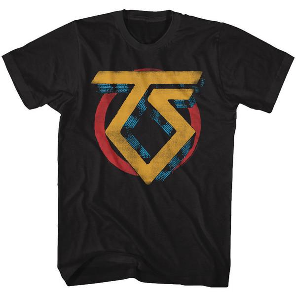 Twisted Sister Vintage Band Logo Adult T Shirt Heavy Metal Music T-Shirt Men's Street Custom Short Sleeve 3XL Couple Tshirt
