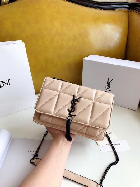 2019 Brand Fashion Luxury Tengge Twill Lady Neue Umhängetasche Designer Wallet 0622