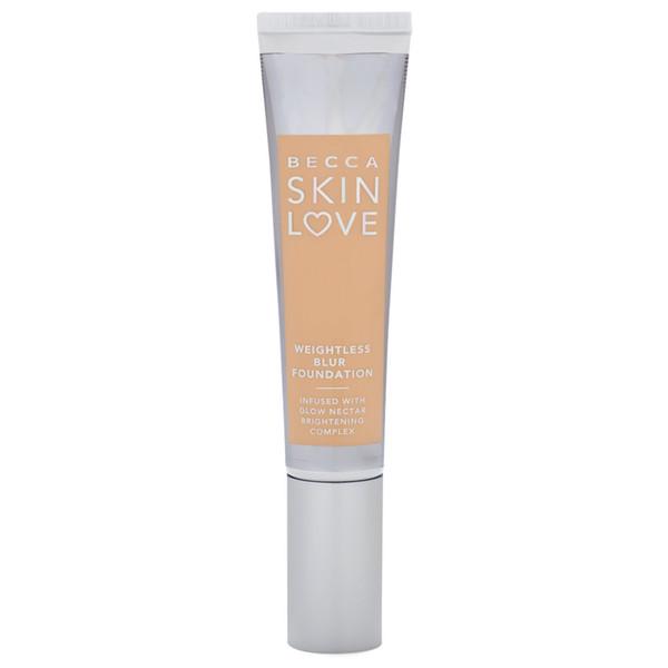 Becca Liquid Matte Nude Beauty Natural Neutral Velvet Skin Love Weightless Blur Foundation 30 ml - Ivory
