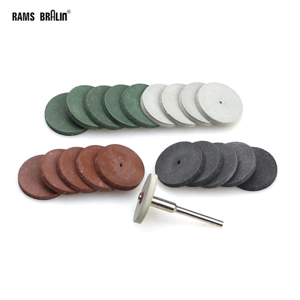 best selling 20 + 1 pieces 3mm Shaft Dremel Rubber Polishing Wheel for Metal Dental Finish Mini Drill Die Grinder Rotary Tools