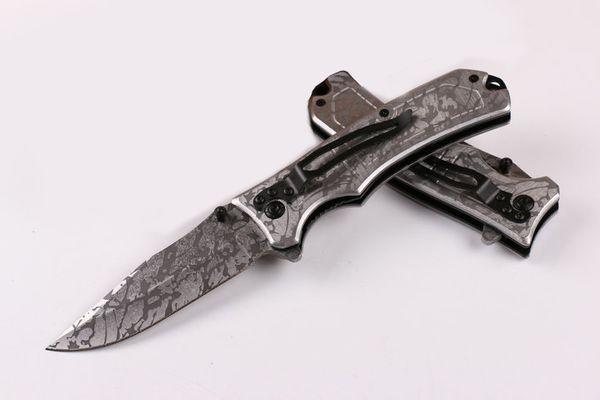 Attrezzatura da esterno Browning 365 Titanium Tactical Rescue Knife Modello di corrosione assistita Pieghevole Coltelli di sopravvivenza Utility EDC Strumenti tascabili P71R F