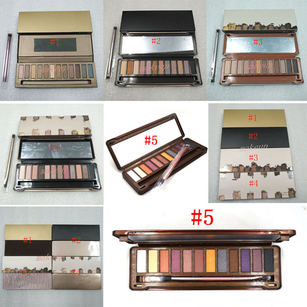 new makeup eye shadow palette 12 color shimmer matte eyeshadow palette eye shadow pallet palette no 1 2 3 4 5 eye shadow