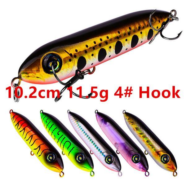 10.2cm 11.5g 4# Hook