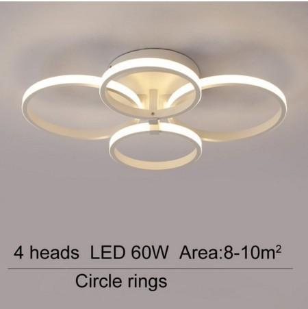Cercle de 4 têtes