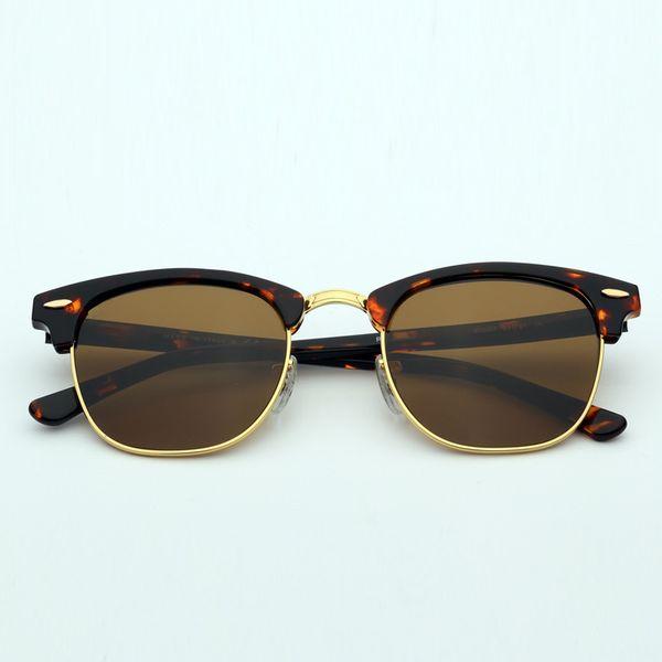 902/57 блестящая черепаха / коричневый стеклянный объектив