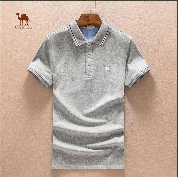 Camiseta de la marca SS CAMEL Camiseta de moda callejera Marca de pony de alta calidad Salvaje Polos de venta caliente Marca de novedad de lujo Polos de pedido privado Entrega gratuita