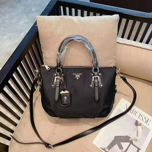 Stazione Europa classici signore sacchetto di nylon moda borsa impermeabile borsa polpetta paracadute borsa di stoffa di Oxford messenger