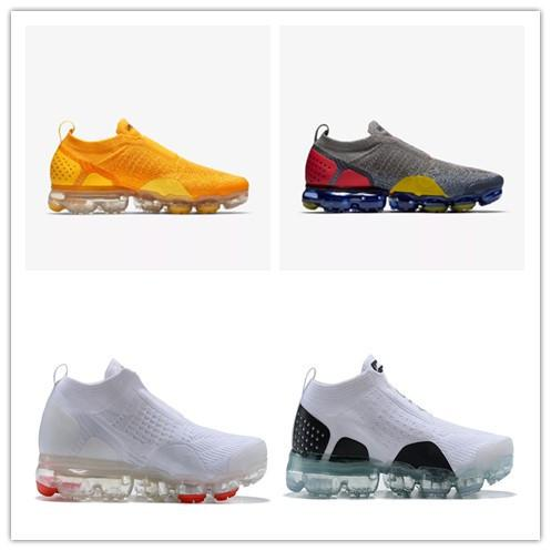 Scarpe On Line Nike Air Vapormax GOOD 2019 Red Orbit Scarpe Da Corsa Light Cream Triple Nero Bianco Hot Punch Designer Uomo Donna Trainer Sport