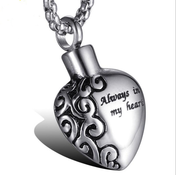 collier homme pendentif coeur