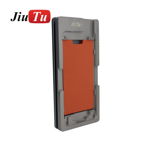 Onarım Hassas Ekran Alüminyum Alaşım Kalıp Kalıpları + Lastik Pedi iPhone 8 8 Artı 7 7 Artı 6 S 6 S Artı 4 1 Soğuk Pres