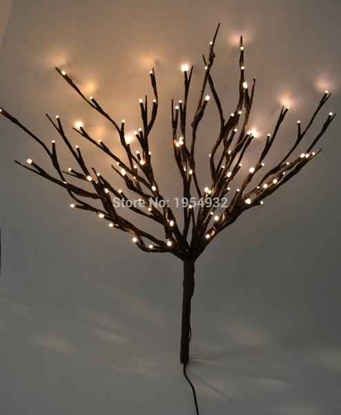christmas LED Lighted Twig 100 LED Pre-Light Twig branch Artificial Tree Willow Branches Lamp for Home Holiday Party Decoration