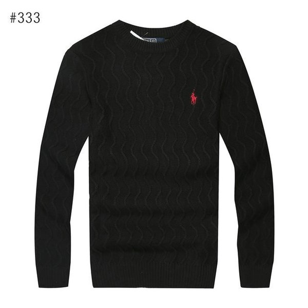 Men s sweater new trend fashion wild print four-color sweater comfortable warm sweater