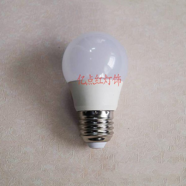 E27 Globe Glühlampen der Glühlampe energiesparende Glühlampe-Haushaltsschraube-Birne warmes weißes Licht