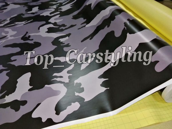 Dark gray camo vinyl car wrapping film sticker foil for Crisut,Silhouette Cameo,Craft Cutters,Decals
