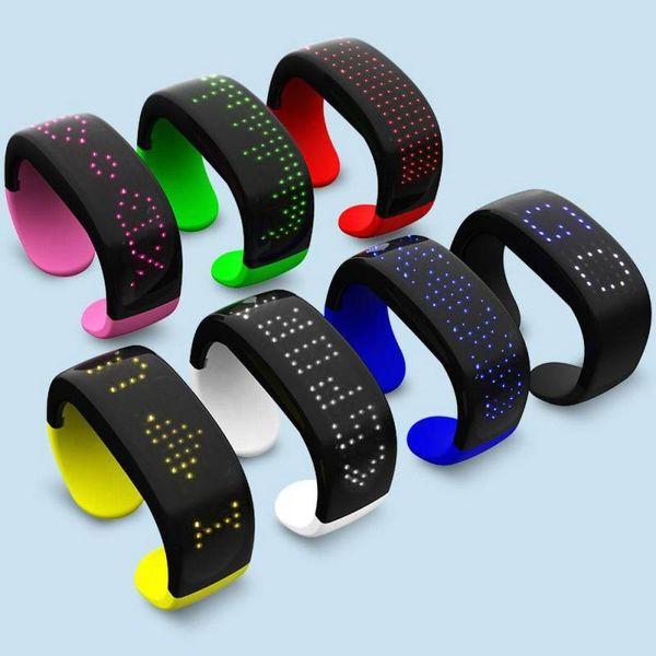 Wholesale Items Wholesale LED Light Up Wristbands Flash Wristbands